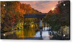 Blackstone River Bridge Acrylic Print