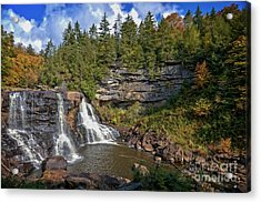 Blackwater Falls  In Autumn 3879c Acrylic Print
