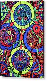Blaclitetrip Acrylic Print by Ottoniel Lima
