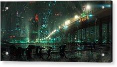 Blade Runner Blues Acrylic Print