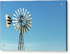 Blades Stand Alone Acrylic Print by Todd Klassy