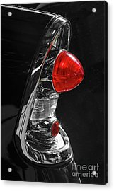 Acrylic Print featuring the photograph Black '56 by Dennis Hedberg