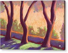 Blake Garden Trees Acrylic Print