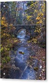 Blanchard Stone Bridge Acrylic Print