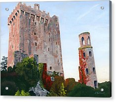 Acrylic Print featuring the painting Blarney Castle by Lynne Reichhart