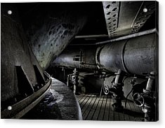 Acrylic Print featuring the photograph Blast Furnace Piping by Dirk Ercken