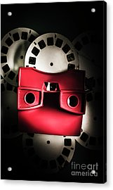 Blast Past A Retro Play Back  Acrylic Print by Jorgo Photography - Wall Art Gallery