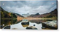 Blea Tarn In Cumbria Acrylic Print