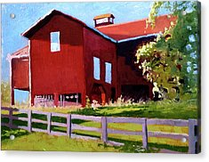 Bleak House Barn No. 3 Acrylic Print by Catherine Twomey