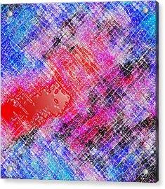 Bleeding Soul Acrylic Print by Cristophers Dream Artistry
