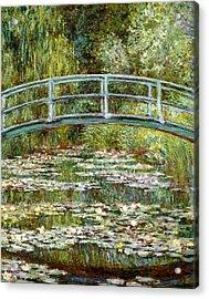 Blend 11 Monet Acrylic Print by David Bridburg