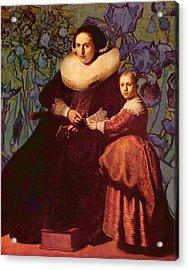 Blend II Rembrandt Acrylic Print