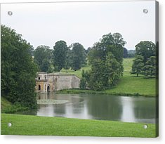 Blenheim Palace Lake Acrylic Print