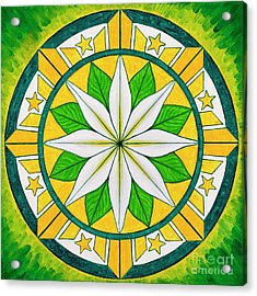 Blessings Of Kapayapaan/bendiciones De La Paz Acrylic Print
