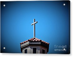 Acrylic Print featuring the photograph Blessings To Everyone Of All Faiths by Ray Shrewsberry
