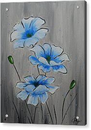 Bleuming Acrylic Print