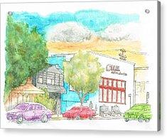 Blick Art Material, Los Angeles, California Acrylic Print