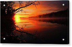 Blind River Sunrise Acrylic Print