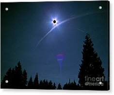 Blinded By The Light Acrylic Print