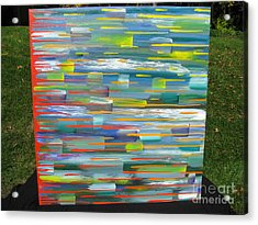 Acrylic Print featuring the painting Blindsided by Jacqueline Athmann