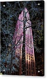 Bling Acrylic Print by Az Jackson
