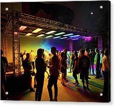 Blink Cincinnati - Luminous Ether Acrylic Print