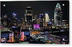 Blink Cincinnati - Skyline  Acrylic Print