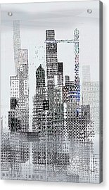 Blip 2  Acrylic Print by Andy  Mercer