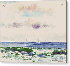 Block Island Sound Acrylic Print by Joan Hartenstein