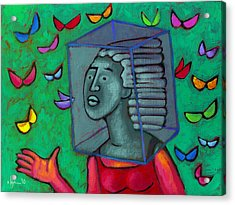 Blocked Acrylic Print
