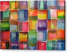 Blocks II Acrylic Print