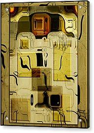Blocks Of Time Acrylic Print by Daniel G Walczyk