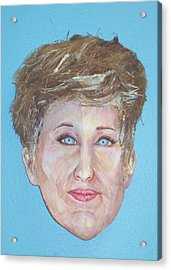 Blonde Comedian W Mullet - Do Acrylic Print