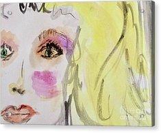 Blonde Acrylic Print