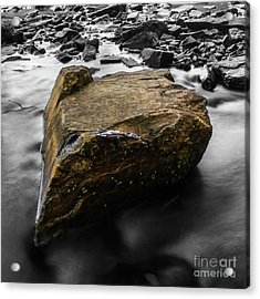 Blonde Rock Acrylic Print by Brian Jones