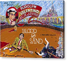 Blood And Sand - 1922 Lobby Card That Never Was Acrylic Print