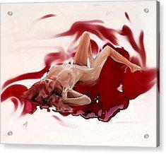 Blood Bath Acrylic Print