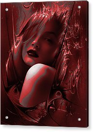 Blood Lust Acrylic Print by Tbone Oliver