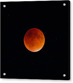 Blood Moon 2 Acrylic Print by Cathie Douglas