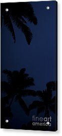 Blood Moon In Hawaii  - Triptych   Part 1of 3 Acrylic Print
