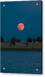 Blood Moon Rising Acrylic Print