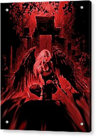 Blood Moon Acrylic Print by Tbone Oliver