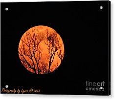 Blood Red Moon Acrylic Print