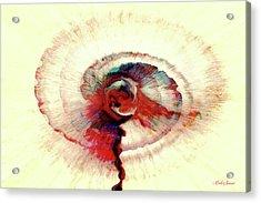 Bloodshed Eye Acrylic Print