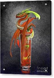 Bloody Mary Dragon Acrylic Print
