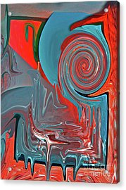 Bloody Mary Pick Me Up Acrylic Print