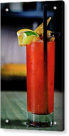 Acrylic Print featuring the photograph Bloody Mary by Ryan Smith