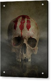 Bloody Palm Mark Acrylic Print