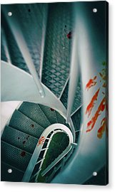 Acrylic Print featuring the photograph Bloody Stairway by Carlos Caetano