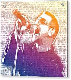 Bloody Sunday Acrylic Print by Mark Compton